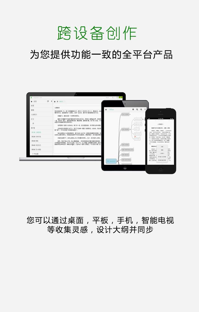 云同步的写作软件